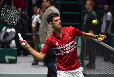 """Djokovic si lamenta in italiano per lo shot clock: """"E' ridicolo"""""""