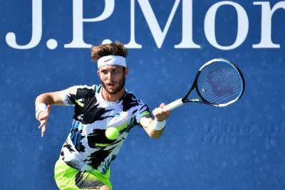 """Corentin Moutet: """"Il tennis è fatto di emozioni. La gente ci giudica, ma siamo esseri umani"""""""