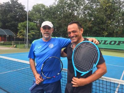 """Bruno Danovaro, dalle arti marziali al tennis: """"Mi sento come un ragazzino"""""""