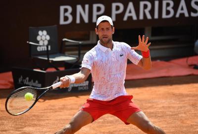 Internazionali BNL d'Italia: Djokovic supera Koepfer in tre set e conquista la semifinale