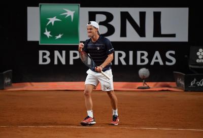 Internazionali BNL d'Italia: impresa Schwartzman: fuori Nadal ai quarti di finale
