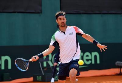 ATP Amburgo: Fognini passa con Kohlschreiber, Sonego eliminato da Auger-Aliassime