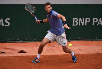Paul Henri Mathieu raccattapalle d'eccezione al WTA di Strasburgo