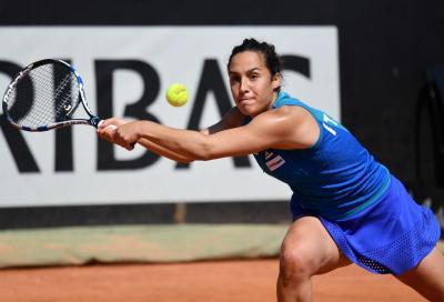 Roland Garros: Giorgi domina, poi crolla e si ritira. Trevisan al secondo turno