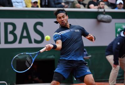 Roland Garros 2020: Fognini crolla al debutto contro Kukushkin
