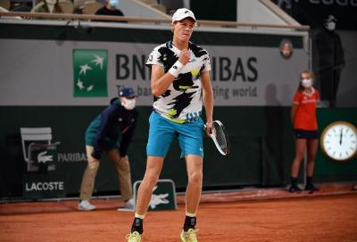 Roland Garros: Sinner facile al terzo turno, impresa di Trevisan contro Gauff