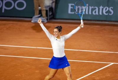 Roland Garros: Trevisan da urlo, batte Sakkari e vola agli ottavi