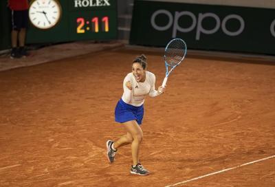 Roland Garros: il sogno di Trevisan continua, batte Bertens ed è ai quarti