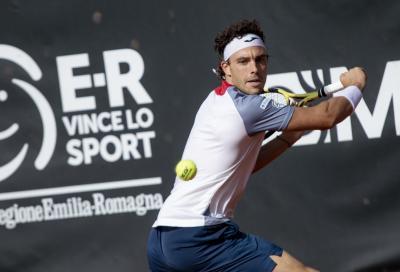 Challenger Parma: Cecchinato ok all'esordio, avanti anche Caruso