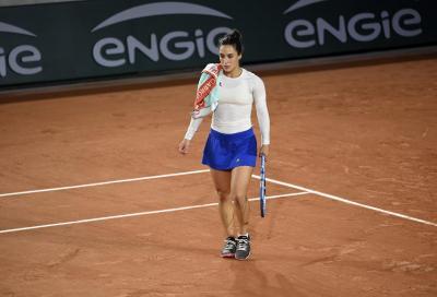 Roland Garros: Trevisan si arrende a Swiatek, l'azzurra eliminata ai quarti di finale