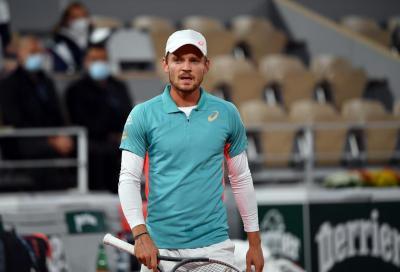 David Goffin positivo al Covid: salta il torneo di San Pietroburgo