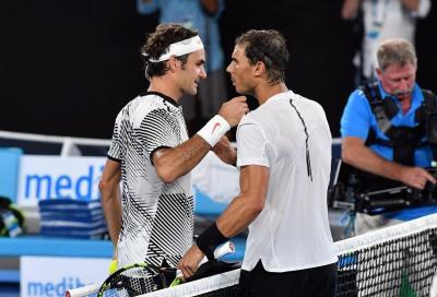 """Federer si congratula con Nadal per i 20 slam: """"Traguardo meritato"""""""