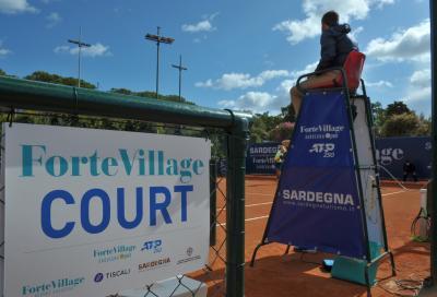Atp Sardegna Open, programma 13 ottobre: derby Sonego-Zeppieri