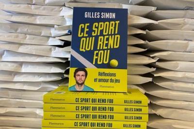"""""""Questo sport ti rende pazzo"""". Il nuovo libro di Gilles Simon"""