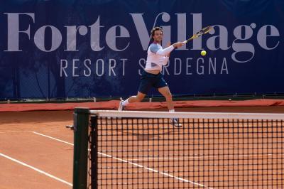 Atp Sardegna: Cecchinato argina Paul e approda ai quarti di finale
