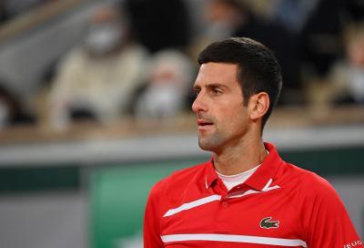 Djokovic salta il Masters 1000 di Parigi Bercy: