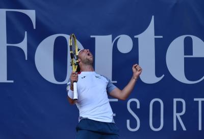 ATP Sardegna 2020: Cecchinato in finale, demolito Petrovic in due set