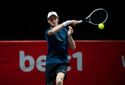 ATP Vienna 2020: ottimo esordio di Sinner, sconfitto Ruud in due set