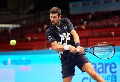 """Djokovic: """"Sonego ha meritato, ma l'aver raggiunto il mio obiettivo ha pesato"""""""