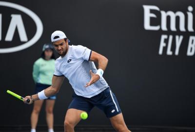 Masters 1000 Parigi Bercy: Berrettini sconfitto all'esordio, Giron si impone in tre set