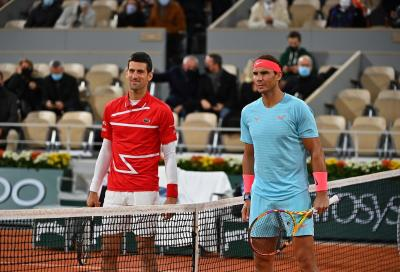 Uno studio dell'ATP: Djokovic e Nadal sono i migliori sotto pressione
