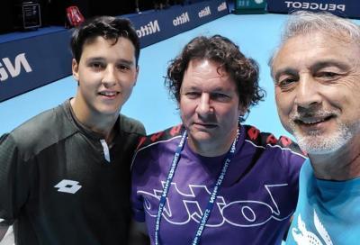 """Luciano Darderi, lettere da Londra - Giorno 1: """"Stare con Djokovic e Schwartzman ti fa sentire importante"""""""