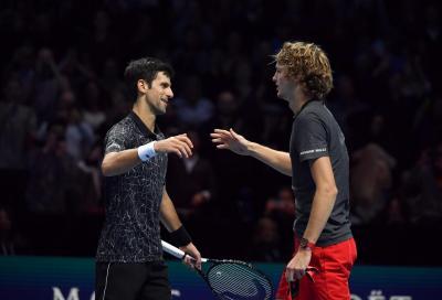 ATP Finals: Djokovic per tornare al successo, Schwartzman all'esordio