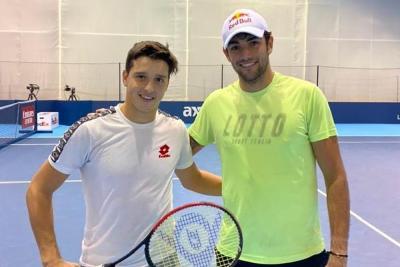 """Luciano Darderi, lettere da Londra - Giorno 2: """"Prima dello stop ho giocato il mio miglior tennis con Berrettini"""""""
