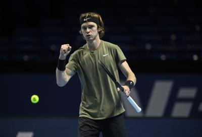 ATP Finals: Rublev batte Thiem, ma non basta per passare il turno