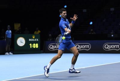 Atp Finals, Djokovic non sbaglia: Zverev ko e semifinale con Thiem