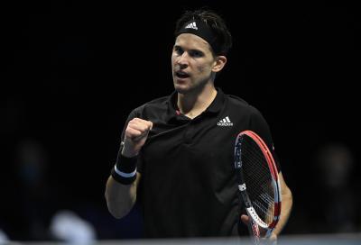 ATP Finals: Thiem vola in finale, battuto Djokovic al tie-break decisivo