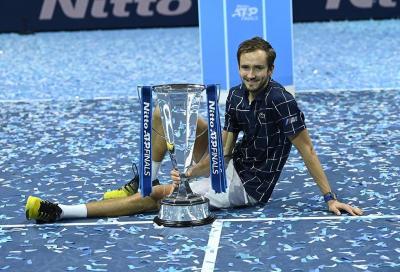 """Daniil Medvedev: """"Perché non ho esultato? È una cosa mia, nel calcio succede"""""""