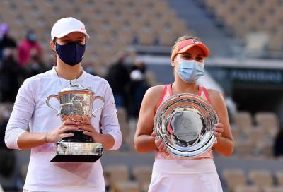 WTA Awards: Sofia Kenin è miglior giocatrice del 2020