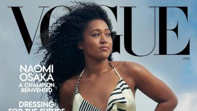 Naomi Osaka in copertina su Vogue: premiato il suo attivismo sociale