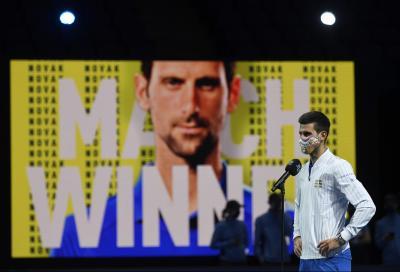 Djokovic costretto a ritirarsi come candidato per l'ATP Player Council