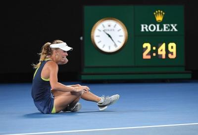"""Wozniacki: """"La malattia è arrivata nell'anno migliore, faticavo ad alzarmi dal letto"""""""