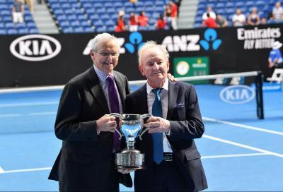 """Rod Laver salta gli Australian Open: """"Quest'anno vedrò le partite da casa"""""""