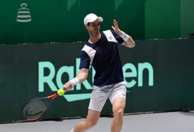 Andy Murray iscritto al Challenger di Biella