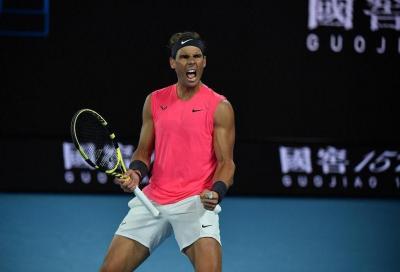 Day at the Drive, Nadal rodaggio perfetto contro Thiem