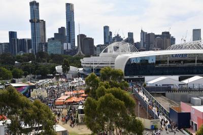 Australian Open, previsti fino a 30 mila spettatori al giorno