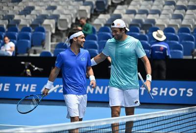ATP Cup, Italia in semifinale: spazzati via i cugini d'oltralpe