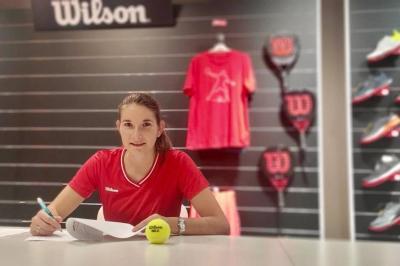 Padel, Wilson ingaggia la numero uno di Francia Alix Collombon