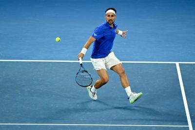 Australian Open, super tie-break con polemica finale: Fognini vince il derby contro Caruso