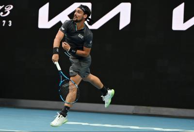 Australian Open, Fognini si arrende al miglior Nadal del torneo