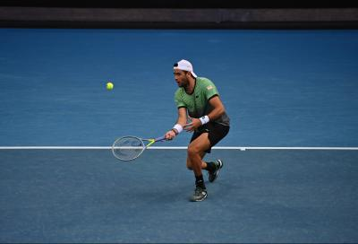 Berrettini si ritira dall'Australian Open: non giocherà contro Tsitsipas
