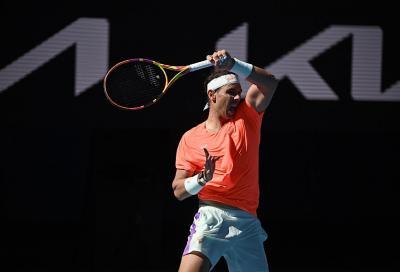 Rafael Nadal colpito dai crampi durante la conferenza stampa (video)