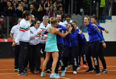 Billie Jean King Cup: Romania-Italia in scena a Cluj a metà aprile