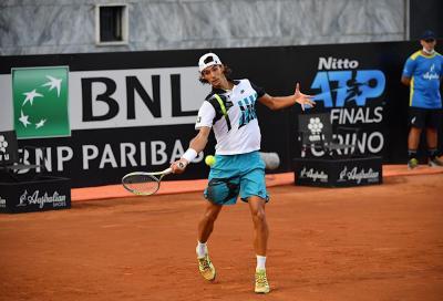 Lorenzo Musetti in finale a Biella: rimontato Andreas Seppi