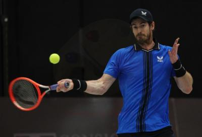 Andy Murray esce all'esordio a Montpellier