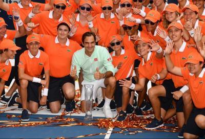 Roger Federer non giocherà il Miami Open